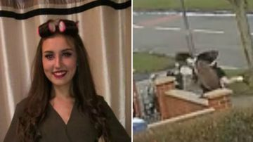 Schoolgirl in coma after motorbike hit her on footpath