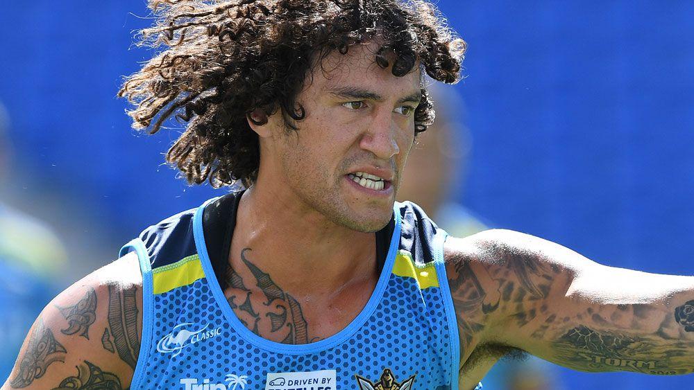 New Gold Coast co-captain Neil Henry. (AAP)
