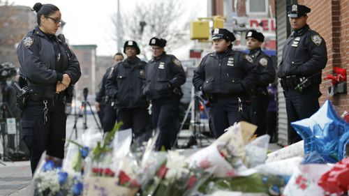 US police on alert after execution-style NYPD killings