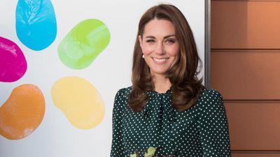 Kate Middleton visits a children's hospital in London, December 2018