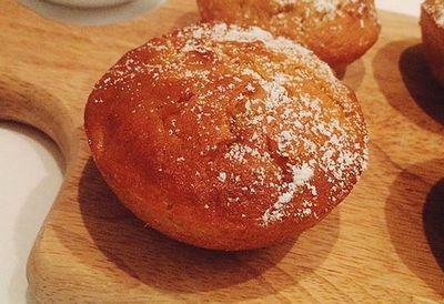 Cecconi's orange peel muffins