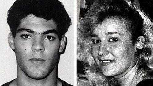 Bevan Meninga, and his victim Cheree Richardson. (Supplied)