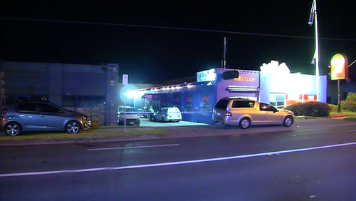The attack occurred about 12am on Tuesday. (9NEWS)