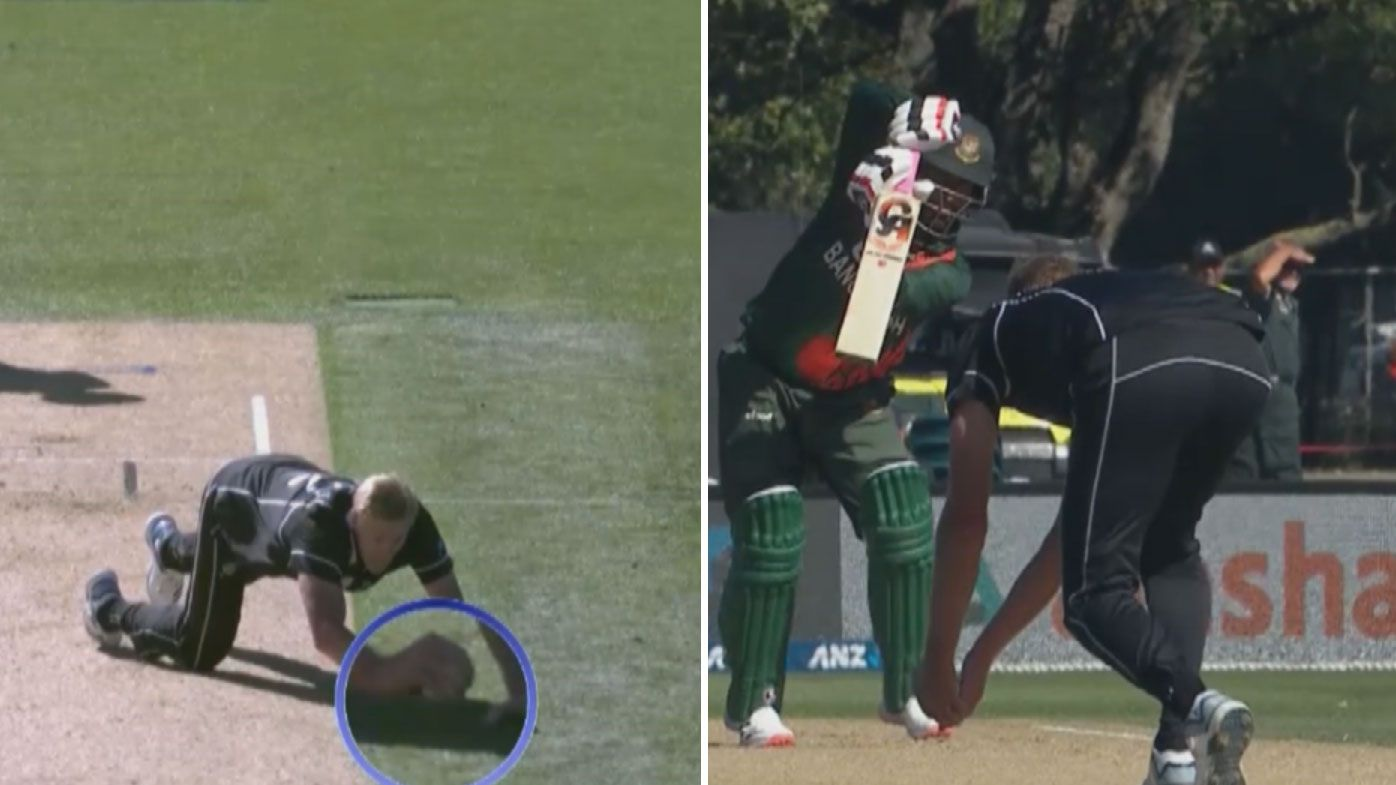 Kiwi quick Kyle Jamieson baffled after third-umpire correctly overturns seemingly legal catch