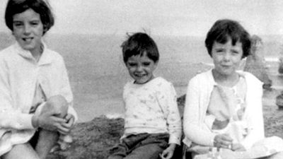 Jane Nartare Beaumont (9), Arnna Kathleen Beaumont (7), and Grant Ellis Beaumont (4) were three siblings collectively known as the Beaumont children who disappeared from Glenelg Beach, near Adelaide on Australia Day, 1966. It resulted in one of the largest investigations in Australian history, and changed the way people supervised their children. The children were last seen in the company of a tall, thin-faced   man at the beach, and later seen buying a meat pie with a one pound note, which their mother did not give them.