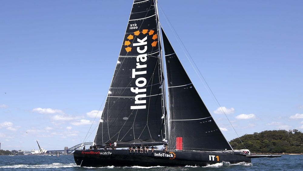 Christian Beck downplays 's---box' InfoTrack's Sydney to Hobart chances