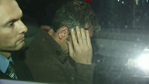 Justice Hollingworth said O'Neill had been in a 'fragile psychological state' when he murdered his partner. (9NEWS)