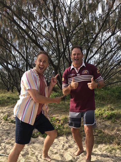 Tim meets a Queensland great