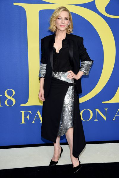 Cate Blanchett in Monse at the 2018 CFDA Awards
