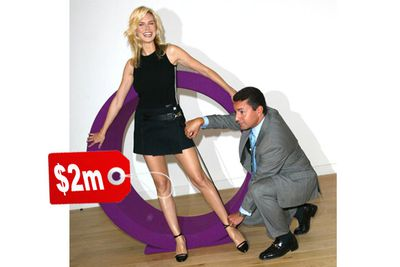 """Heidi's supermodel legs are worth a cool $2,000,000. Underwriters actually inspected her legs to determine their value. """"I had one scar here from when I fell on a glass,"""" says Heidi, """"so this [left leg] isn't as pricey and this [right] one."""""""