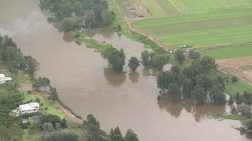 NSW floods rain