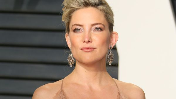 C is for copping it: Kate Hudson is copping it online after suggesting C-sections are a lazy choice. Image: Getty