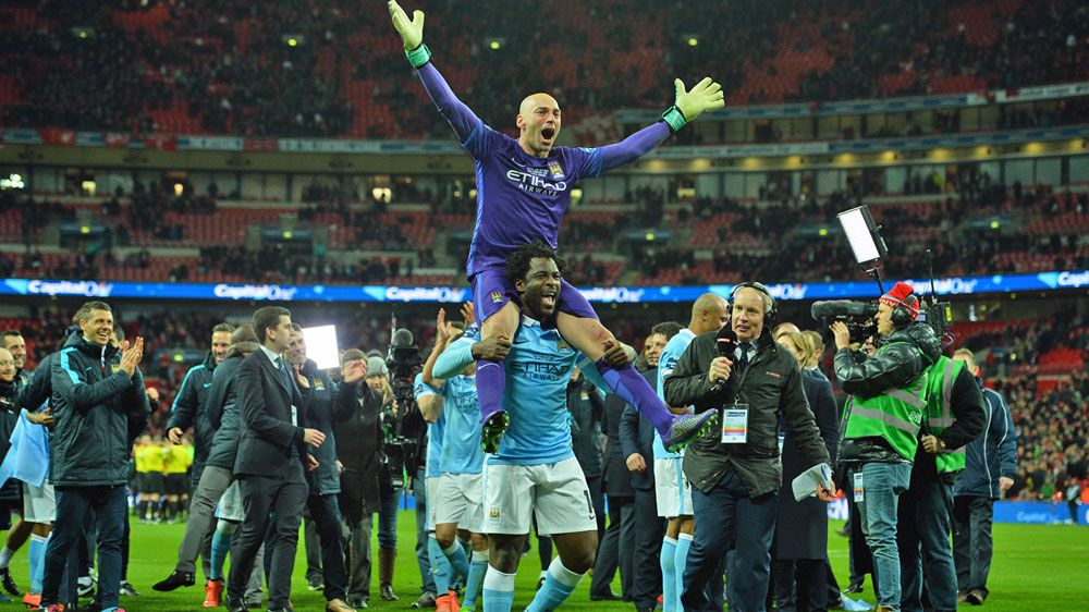 Caballero earns City League Cup silverware