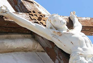 Statue of Crucifixion (Getty)