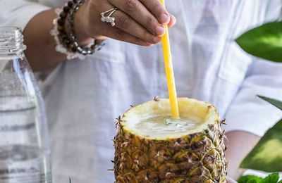 "Recipe: <a href=""http://kitchen.nine.com.au/2017/01/13/12/09/pineapple-and-lychee-fizz-cocktail"" target=""_top"">Pineapple and lychee fizz cocktail</a>"