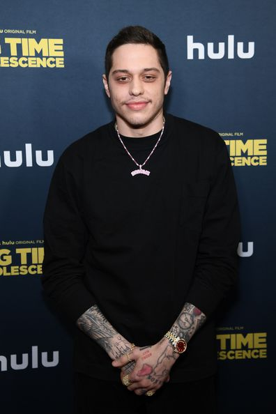 """Pete Davidson attends the premiere of """"Big Time Adolescence"""" at Metrograph on March 05, 2020 in New York City."""