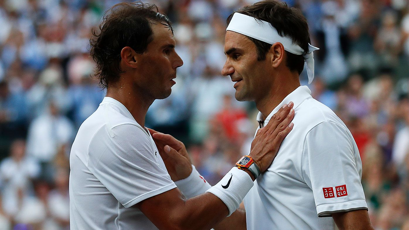 Roger Federer takes on Novak Djokovic in Wimbledon final