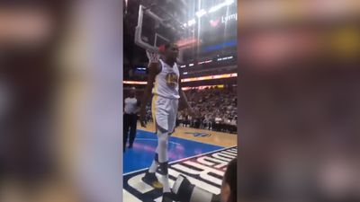 Golden State Warriors star Kevin Durant confronts fan during Mavericks loss