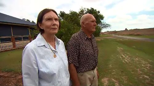 Terry and James Schmidtke say their retirement has been ruined by a highway development.