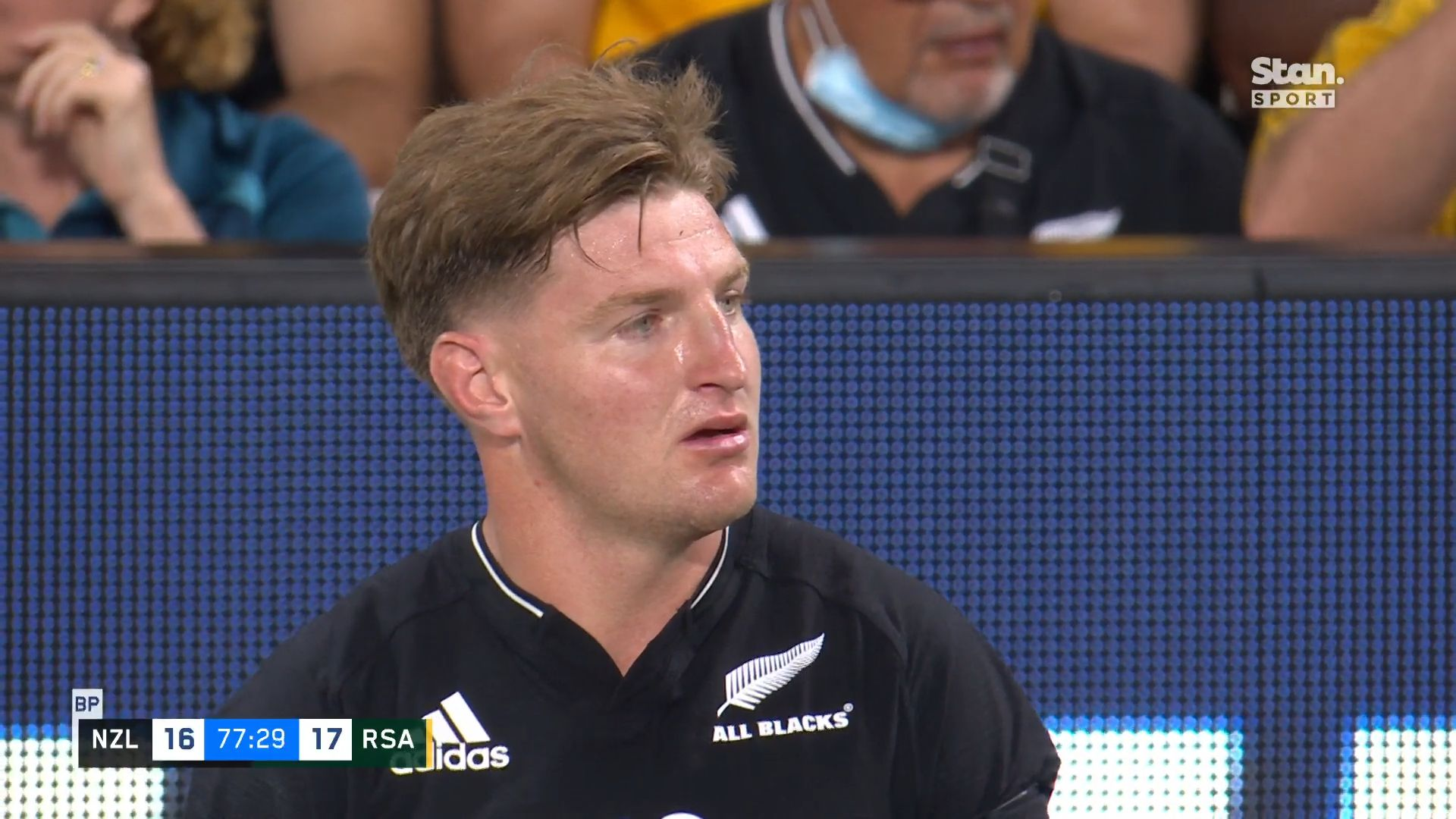 Rugby Championship: All Blacks reshuffle backline for final Test against Springboks