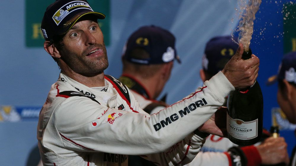 Mark Webber. (AFP)