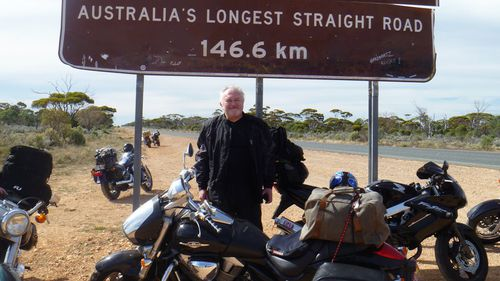 Psychs on Bikes founder Dr Joseph Dunn. (Joseph Dunn/Psychs on Bikes)