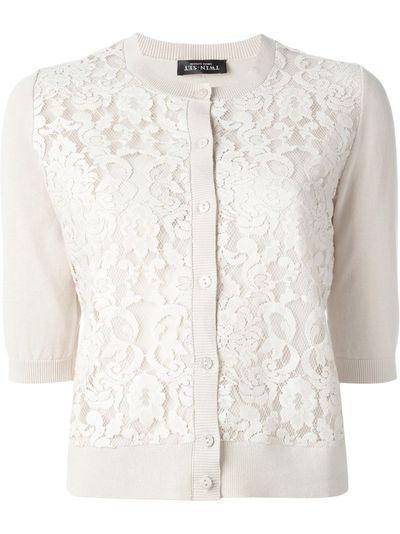 """<a href=""""http://www.farfetch.com/au/shopping/women/twin-set-lace-panel-cardigan--item-11296929.aspx?storeid=9206&ffref=lp_pic_17_6"""" target=""""_blank"""">Cardigan, $209.99, Twin-Set at farfetch.com</a>"""