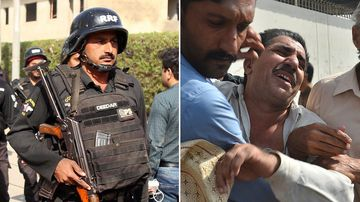 Armed separatists have stormed the Chinese Consulate in Pakistan's southern port city of Karachi, triggering an intense hour-long shootout during which seven were killed.
