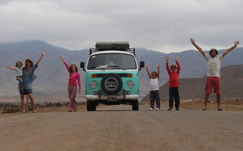 Family drive 21,000km to see Pope Francis