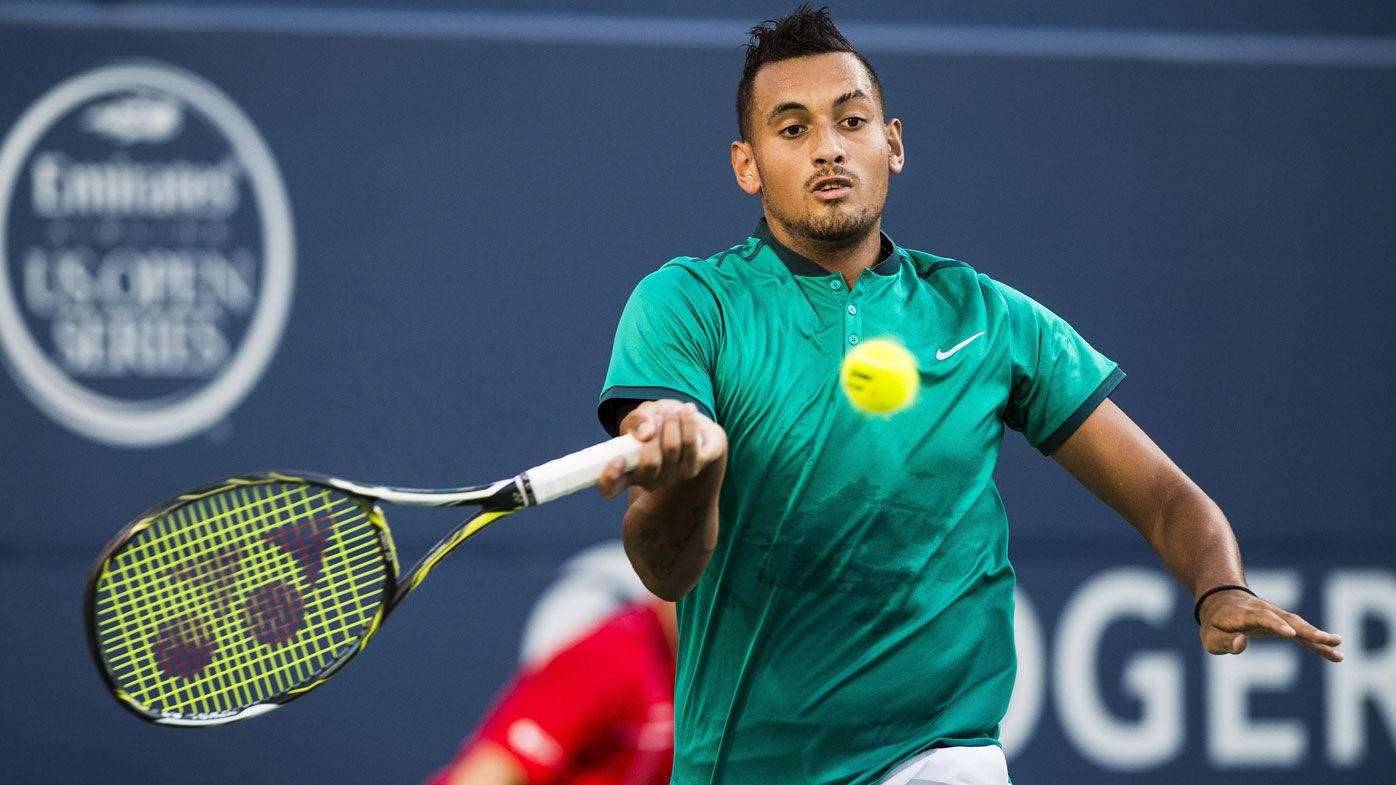 Kyrgios loses to 17-year-old