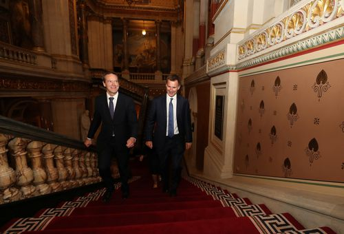 Jeremy Hunt was appointed foreign secretary following Johnson's resignation. Picture: AAP