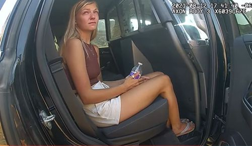 Gabby Petito Brian Laundrie police bodycam footage vehicle stop Utah