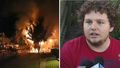 'Every worldly property destroyed': Teens save neighbours from inferno