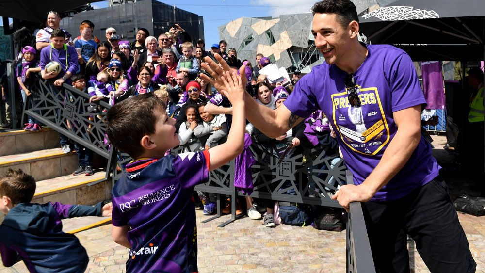 Melbourne Storm's Billy Slater likely to play on while Cooper Cronk remains undecided
