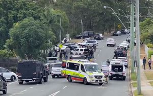 Everton Hills siege ends as man led away in handcuffs