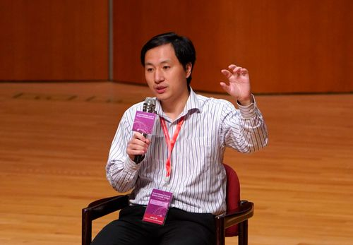 Researcher He Jiankui claims to have altered the DNA of the twins to try to make them resistant to infection with the AIDS virus.