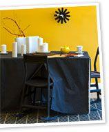 Make: a tablecloth blanket