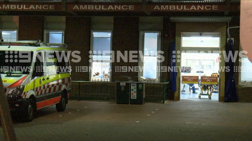Police are investigating after a nurse was allegedly stabbed by a patient at Sydney hospital overnight.
