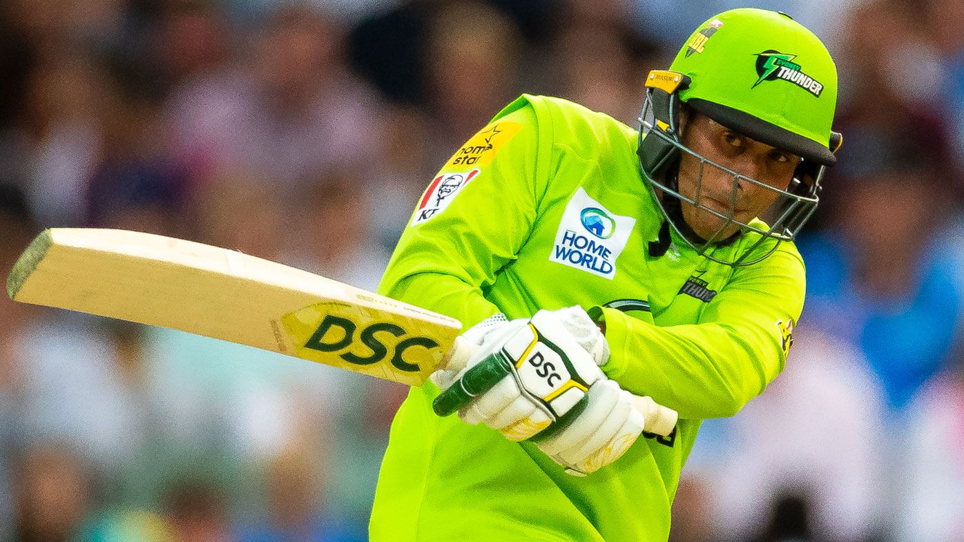 Sydney Thunder captain Callum Ferguson backs Usman Khawaja for Australian recall