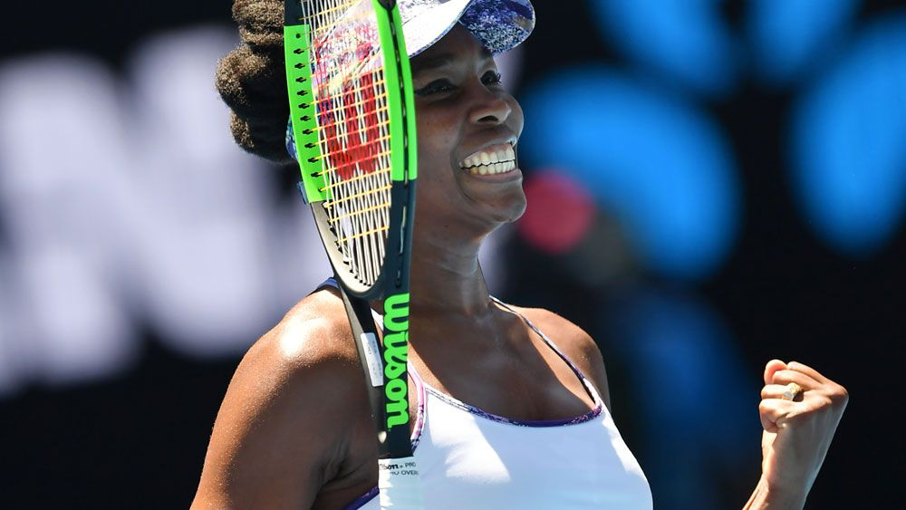 Venus not finished yet at the Open