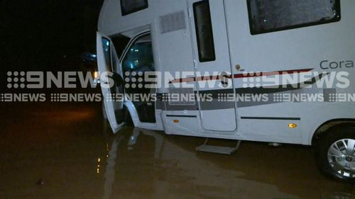 The Cairns region was placed on flash flood watch. (9NEWS)