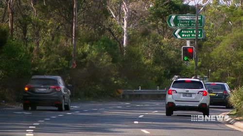 The 40-year-old blew a 0.216 blood alcohol reading at a random breath test stop on Mona Vale Road at Terrey Hills. (9NEWS)