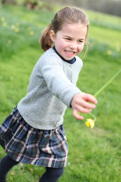 Princess Charlotte fourth birthday photos