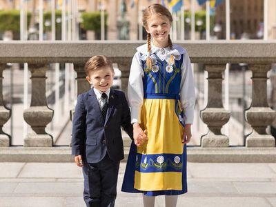 Swedish royals celebrate National Day, June 2020