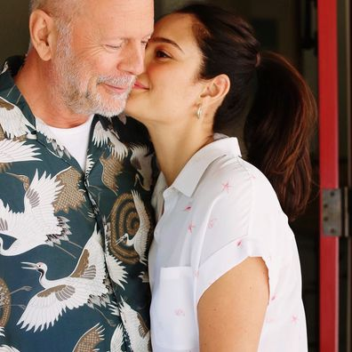 Bruce Willis and Emma Heming Willis pose in loved-up photo together.
