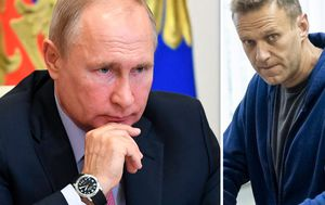 Navalny poisoning: Russian opposition leader accuses Putin of being behind poisoning