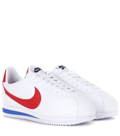 """<a href=""""http://www.asos.com/au/nike/nike-classic-cortez-sneakers-in-retro-leather/prd/7138559?clr=multicolour&amp;SearchQuery=&amp;cid=4172&amp;pgesize=36&amp;pge=0&amp;totalstyles=607&amp;gridsize=3&amp;gridrow=3&amp;gridcolumn=1"""" target=""""_blank"""">Nike Classic Cortez Sneakers in Retro Leather in Multi-Colour, $119.</a>"""