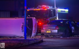 Mother fighting for life after NSW crash between taxi and car 'driven by 17-year-old'