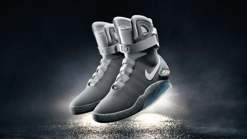 Nike will be auctioning off a limited amount of the sneakers for Michael J. Fox's Parkinson's research foundation. (Nike)
