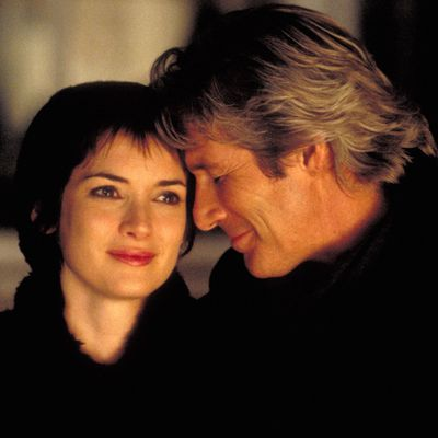 <p>Richard Gere and Winona Ryder in <em>Autumn in New York </em></p><p><em></em><strong>Age gap:</strong> 22 years, 2 months</p>